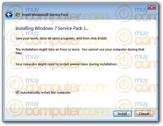 Windows 7 SP1 Installer