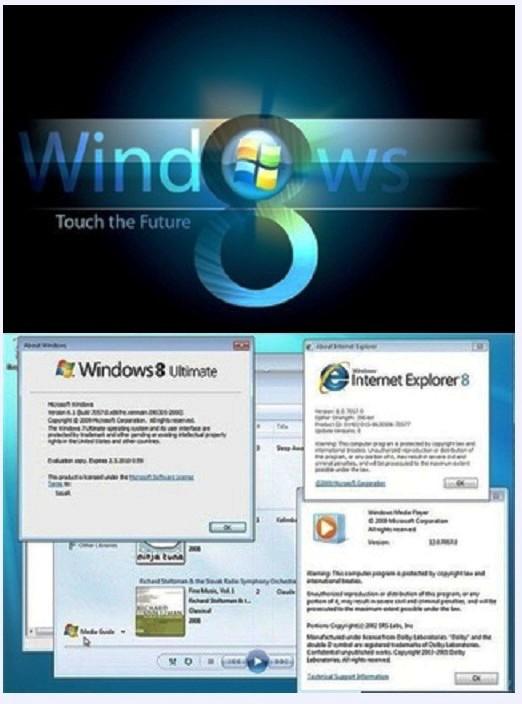 حول نظامك من ويندوز 7 الى ويندوز 8 وتمتع بالشكل الجوهرى بحجم 6.83 ميجا