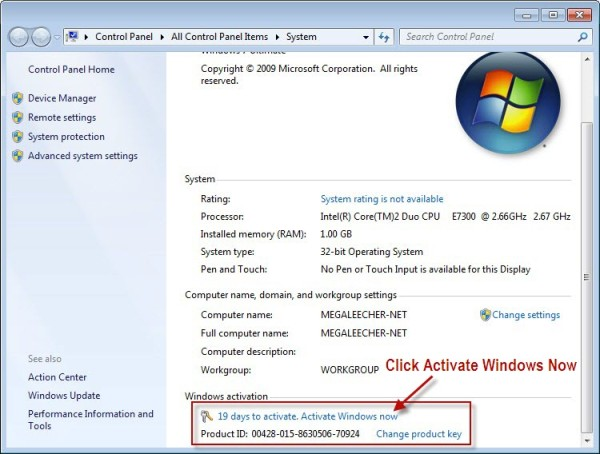 my windows 7 is activated but not genuine