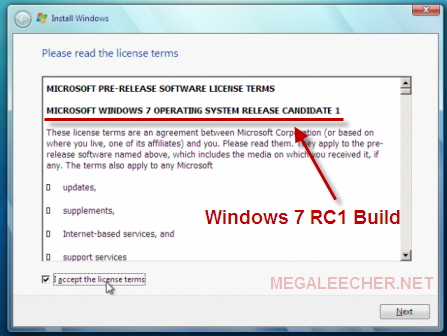 Windows 7 RC 1