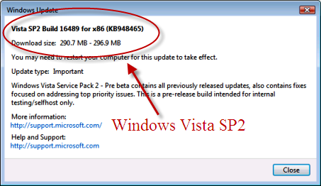 Windows Vista SP2