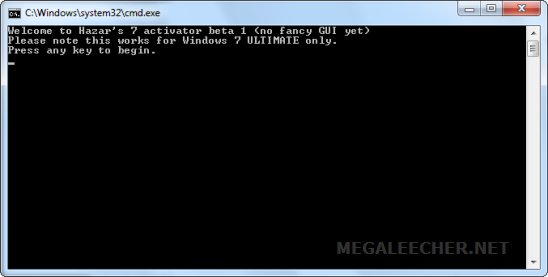 Windows 7 OEM Activation Cracker by HAZAR