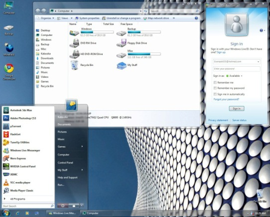 Windows 7 transformation pack for xp