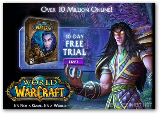 Free World of Warcraft Account