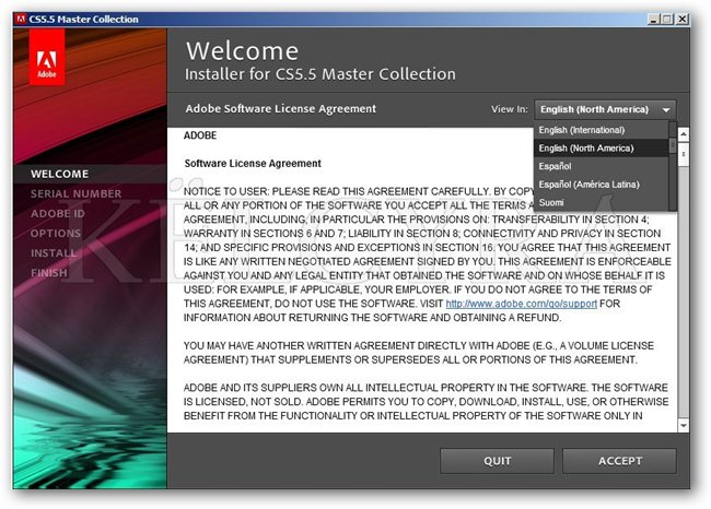 Adobe CS 5.5 Master Collection Suite