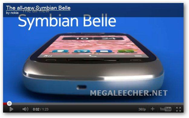 New Nokia Symbian Belle Mobile Platform