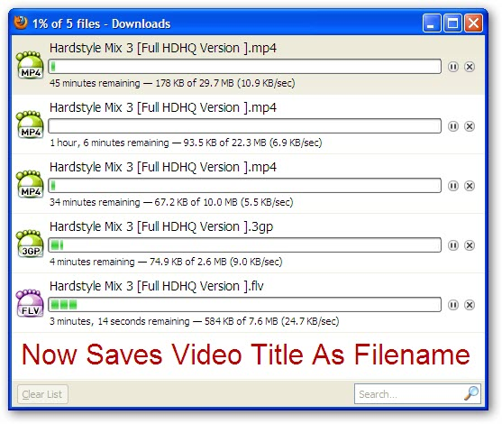 Automated Youtube Video Downloader