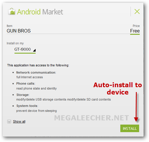 Webstore Auto Install