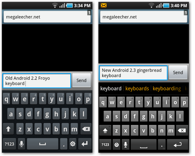 Install Original Android 2 3 Gingerbread Keyboard On Older