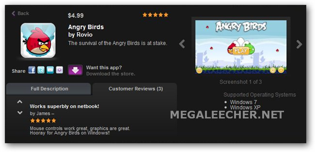 Angry Birds Download For Windows PC