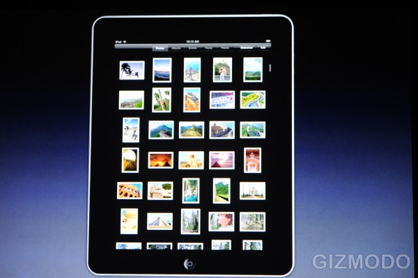 Apple iPad Picture Browser