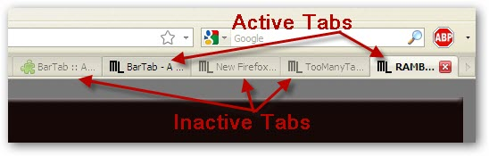 BarTap Firefox Addon