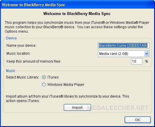 BlackBerry USB Detection