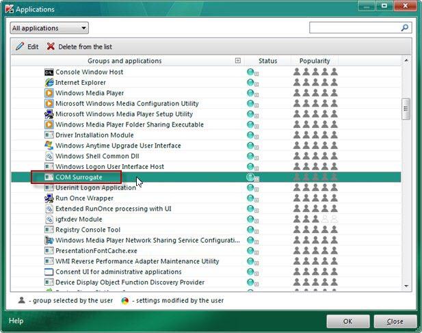 Microsoft COM Surrogate