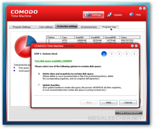 Comodo Time Machine - Quickly And Easily Restore Your