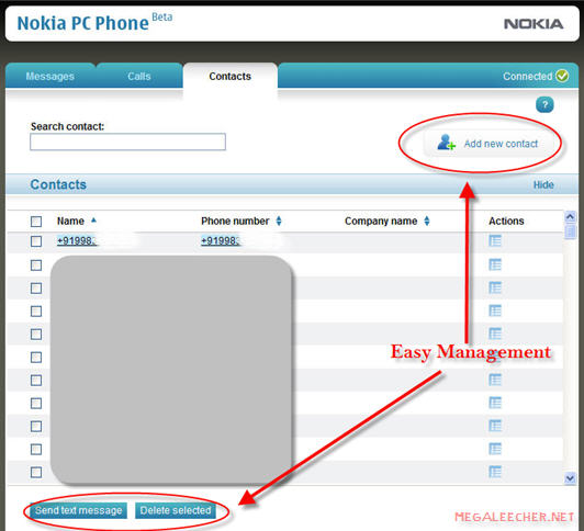 Nokia PC Phone Management