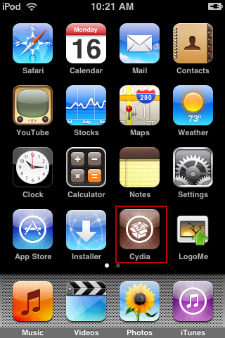 Cydia On iPod Touch