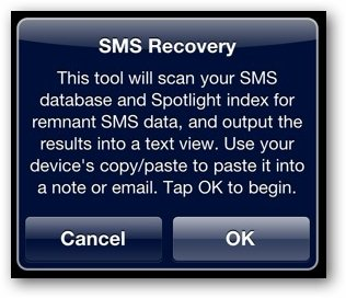 SMS Message Recovery Software