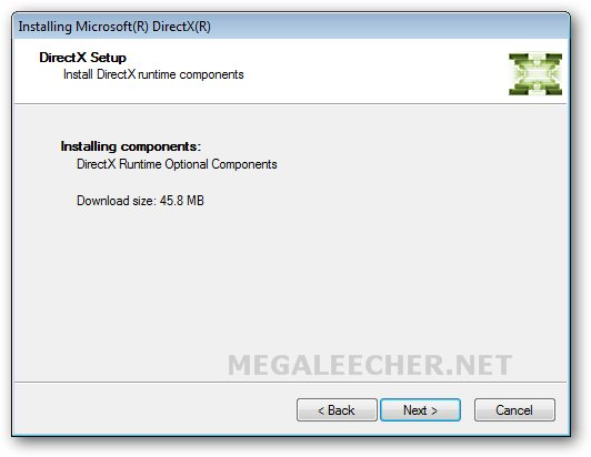 DirectX Update For Windows XP