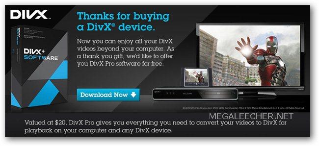 divx serial number free