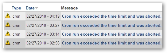 Cron Job Timing Out