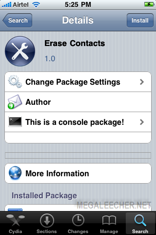 iPhone All Contacts Delete Procedure