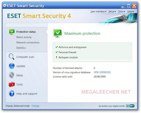 Eset Nod32 Smart Security 4, Antivirus 4 NEW KEYS.