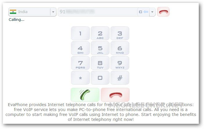 Free international voip calling