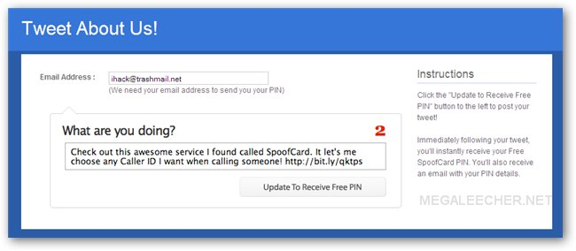 Grab Free SpoofCard PIN And Fake Your Caller ID Of Choice
