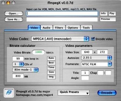 ffmpegx 0.0.9y
