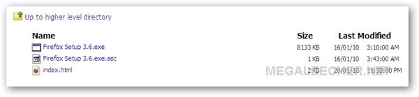 Firefox 3.6 FTP Download
