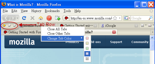 TooManyTabs - Solution To Organize Firefox Tabs And Freeing Memory