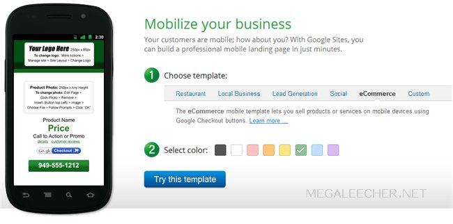Mobilize Websites With Google
