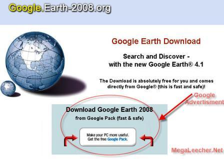 Google Earth 2008 Download Free