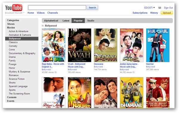 free full length movies for android phone