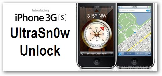 iPhone 3G S UltraSn0w Unlock