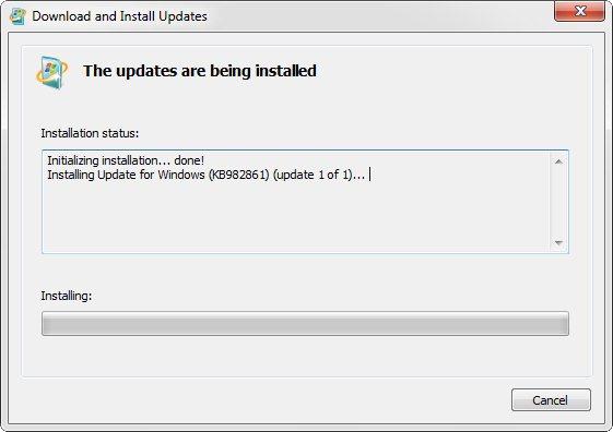 internet explorer 9  for windows 7 32 bit offline messages