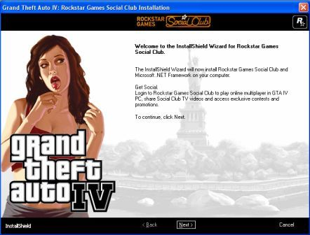 Installing GTA IV On PC