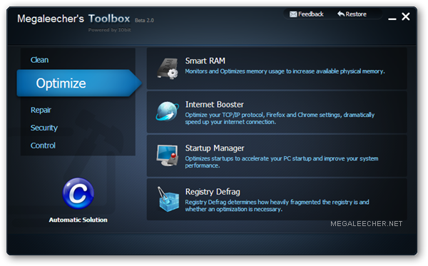 IObit Toolbox Launcher