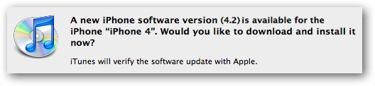 iOS 4.2 Upgrade