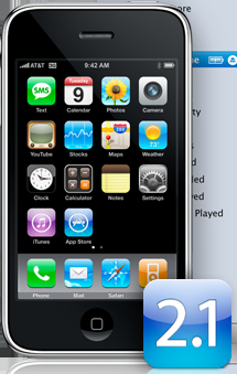iPhone Software 2.1