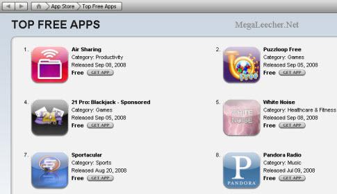 iTunes Store Free Stuff