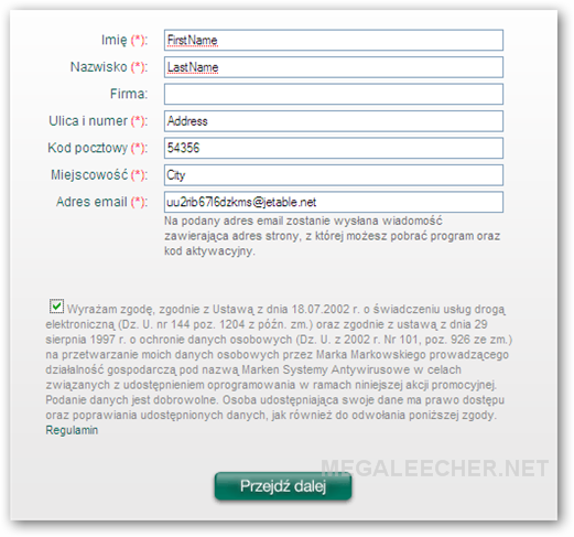 Kaspersky 2010 Activation Step 7