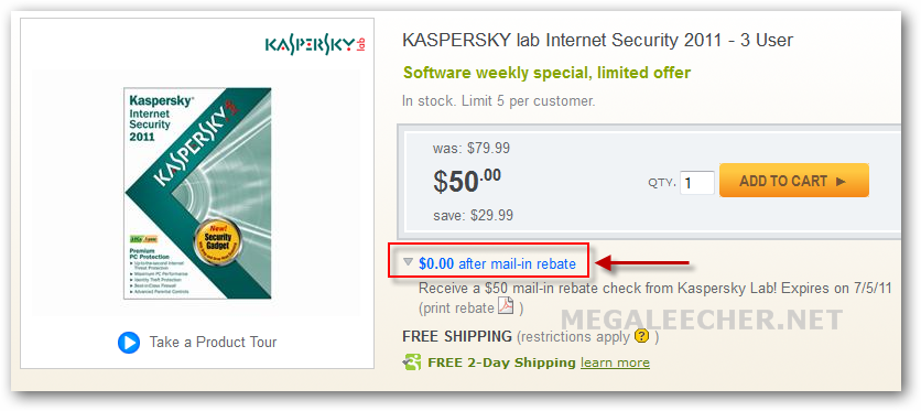 Kaspersky Internet Security 2011 Free Key Promotion