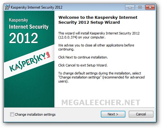 Kaspersky Computer Security 2012 Setup