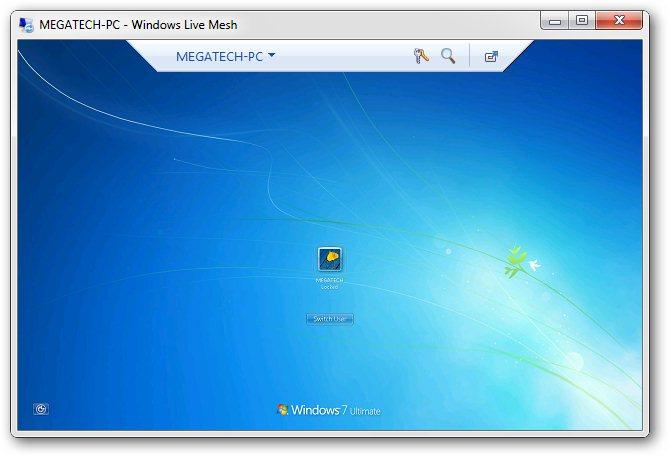 Live Remote Desktop Connection