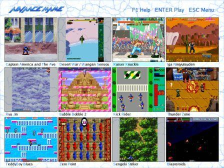 multiple arcade machine emulator linux