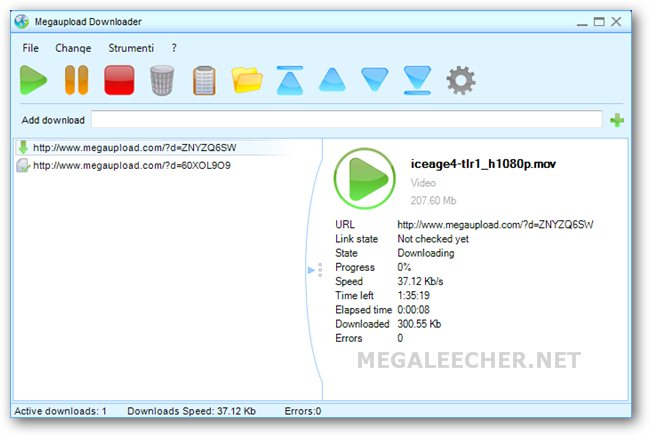 Megaupload Downloader