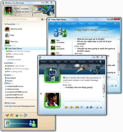 Doawnload Msn Messenger