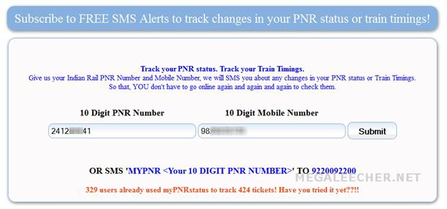 FREE Automated SMS Alerts To Track Changes In Your Indian